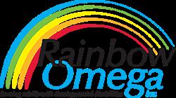 Rainbow Omega Logo